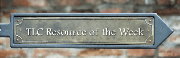 TLC Resource of the Week Banner