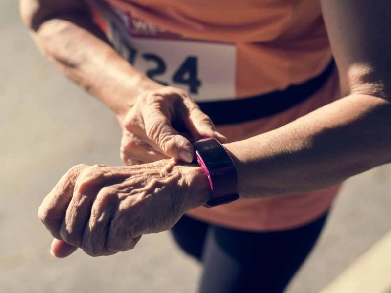 elderly fitness tracker