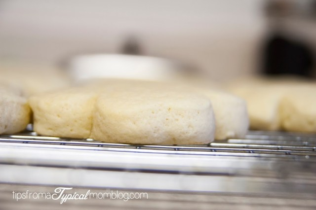 Bakery Style Thick Sugar Cookies with Lemon Glaze from Kneaders Bakery and Tips From a Typical Mom.