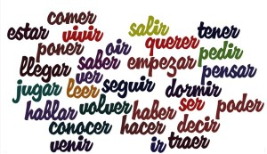 spanish verbs infinitive