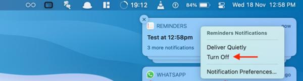 Hình 3 về Cách tắt thông báo ứng dụng nhanh trên Mac