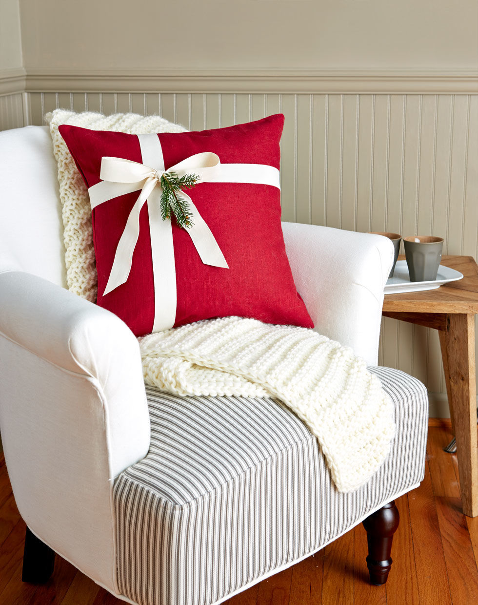 Diy christmas chair covers - Full And More Detailed Tutorial Iheartnaptime