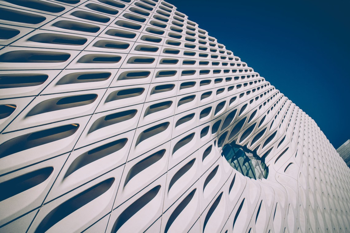the broad museum los angeles california