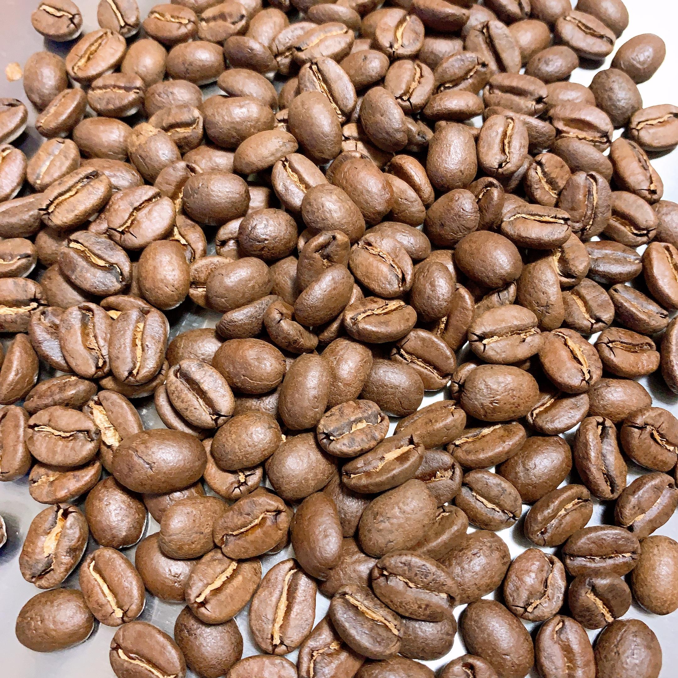 ブラジルサントスNo.2 焙煎したコーヒー豆