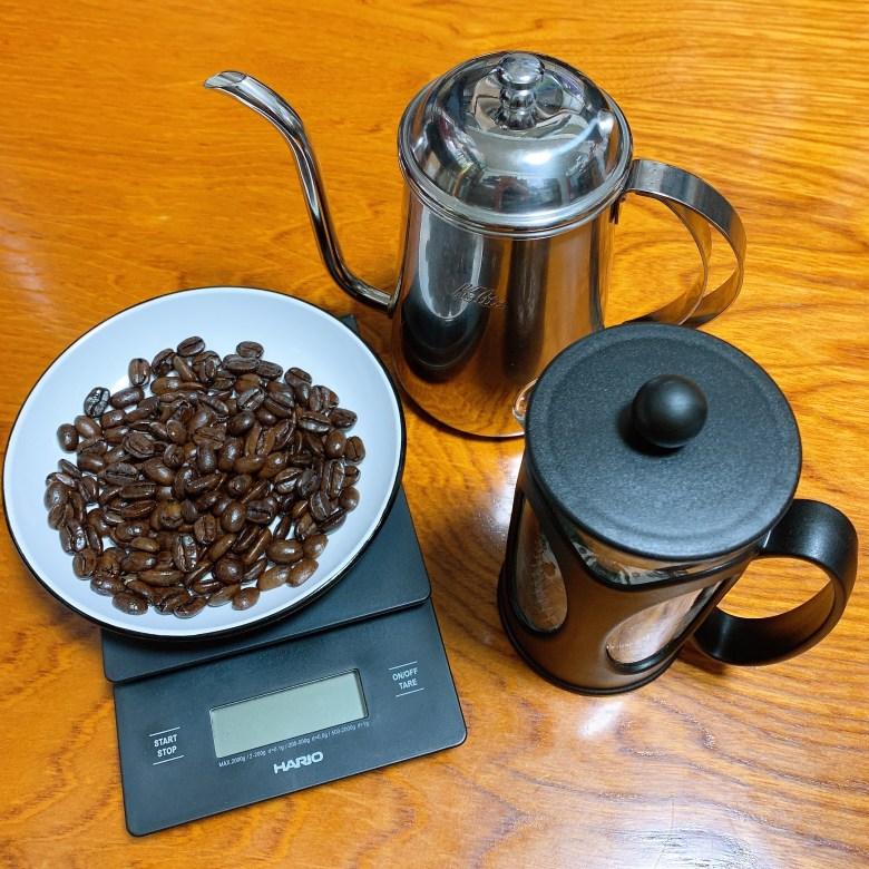 フレンチプレス コーヒー抽出に必要な器具