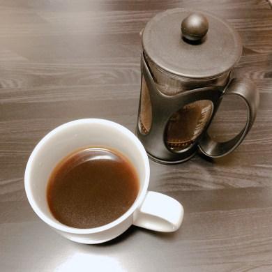 フレンチプレス 浅煎りコーヒー 抽出
