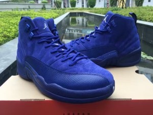 "Air Jordan 12 ""Blue Suede"""