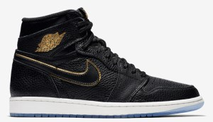 "quality design d7f58 8a232 Air Jordan 1 Retro High OG ""LA"" Color  Black Metallic Gold-Summit White  Style Code  555088-031. Release Date  January 10, 2018. Price   160"
