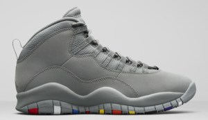 """reputable site 08ec4 8983b Air Jordan 10 """"Cool Grey"""" Color  Cool Grey White-Cool Grey Style Code   310805-022. Release Date  January 27, 2018. Price   190"""
