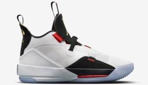 "more photos 9e627 22e47 Air Jordan 33 ""Future of Flight"" Color  White Metallic Gold Black-Vast Grey  Style Code  AQ8830-100. Release Date  October 18, 2018. Price   175"