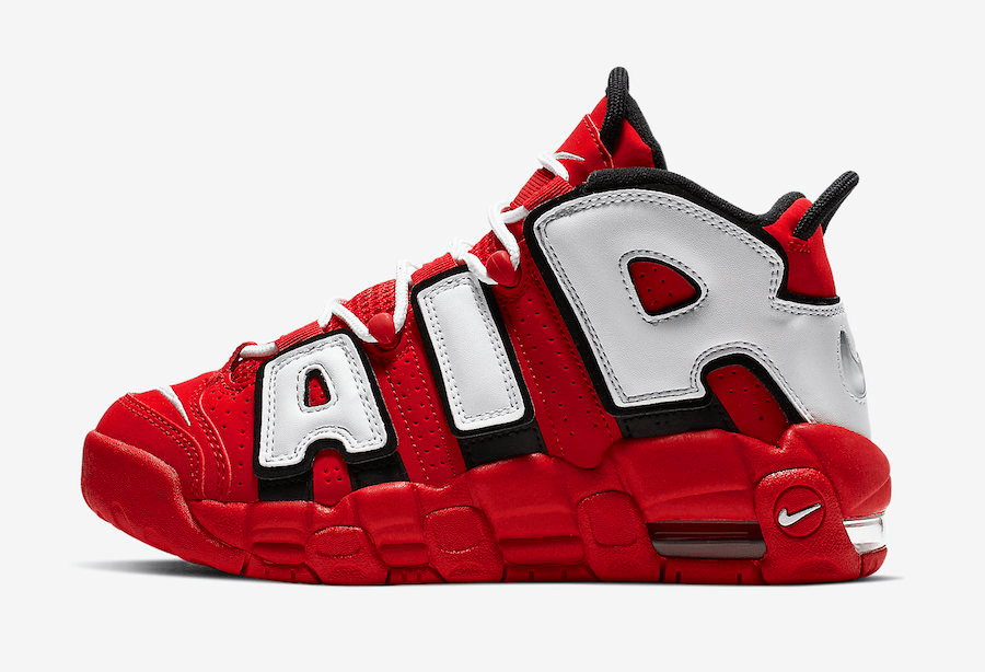 Nike Air More Uptempo Releasing in Another Chicago Bulls Colorway