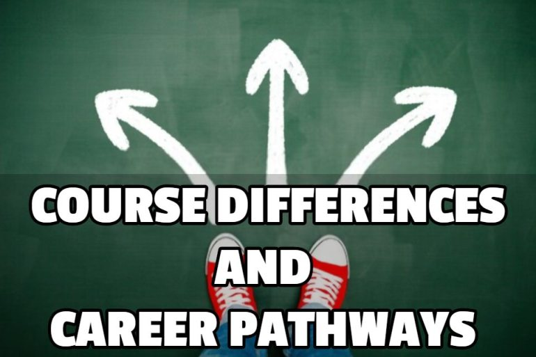COURSE DIFFERENCES AND CAREER PATHWAYS OF IS AND IT