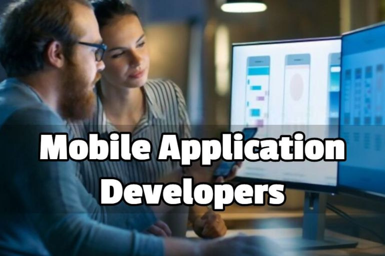 Mobile Application Developers