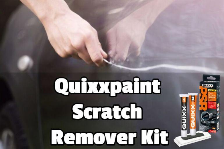 Quixxpaint Scratch Remover Kit