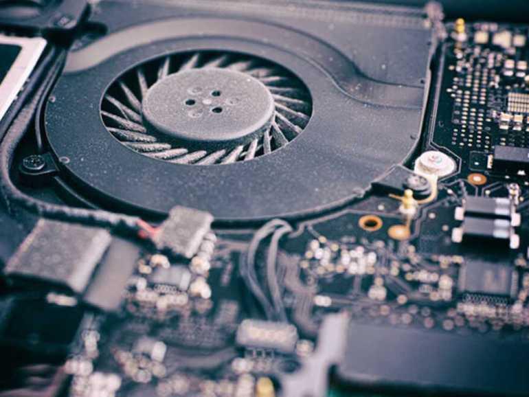 Why is my laptop fan so loud dust