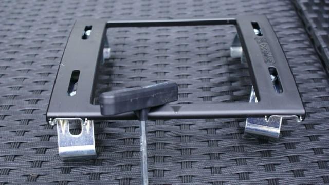 Bagagedrager bevestiging fietsstoel