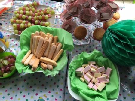 Verjaardag snacks