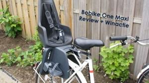 * Winactie * Het fietsstoeltje: Bobike One Maxi