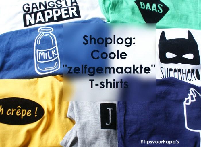 Shoplog zelfgemaakte t-shirts