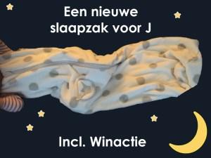 Een nieuwe slaapzak voor J (met Winactie!)