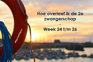 Hoe overleef ik de 2e zwangerschap – Week 24 t/m 26