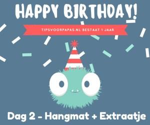 Win 4-daagse – Dag 2: Hangmat + Extraatje