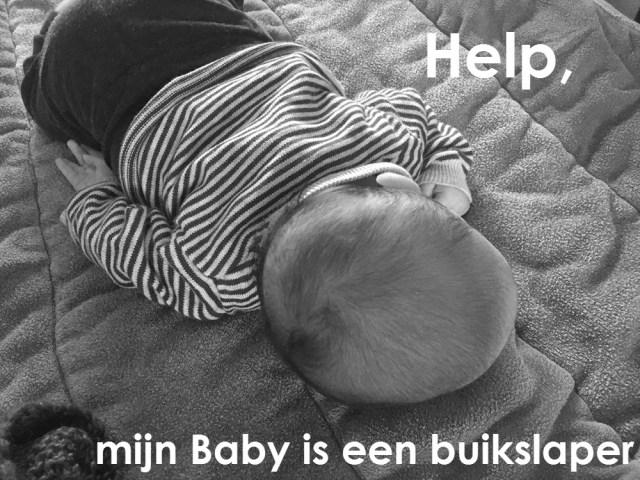 help baby buikslaper