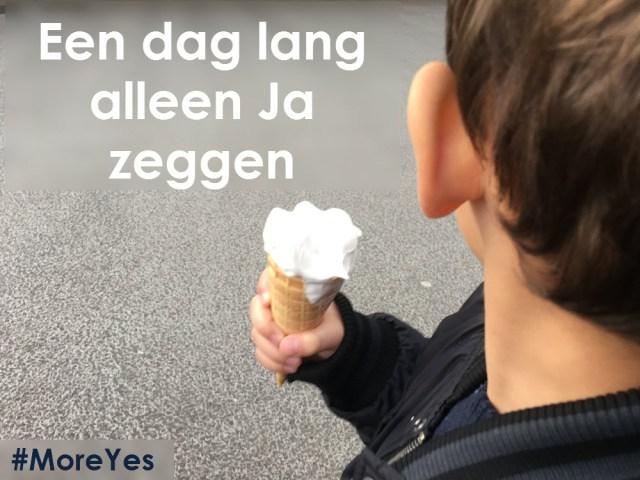 Alleen Ja zeggen Ja-dag #MoreYes