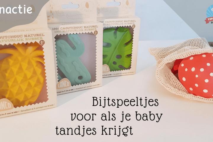 Bijtspeeltjes voor als je baby tandjes krijgt (met Winactie) – GESLOTEN