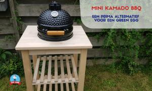 Mini Kamado BBQ – Prima alternatief voor een Big Green Egg
