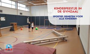 Kinderfeestje in de gymzaal: sportief genieten voor alle kinderen
