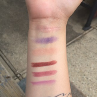 july bbb daylight swatches