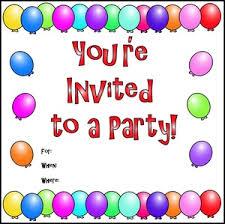 E3O party invitation