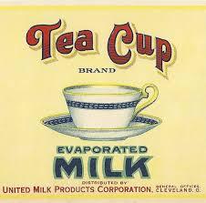 E43 evaporatged milk