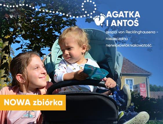 Rodzeństwo naznaczone brzemieniem choroby genetycznej – Agatka i Antoś walczą o zdrową przyszłość