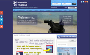 Accessible Thailand Index Page