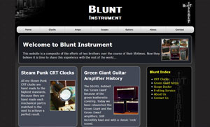 Blunt Instrument Home Page