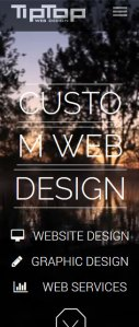 Responsive CMS website with image slider, video layer, photo gallery, contact form, blog and user admin section