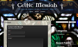 Celtic Messiah Contact Page