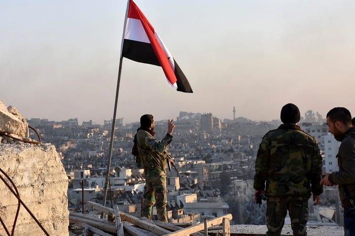 سقوط حلب الشرقية بيد الأسد وشركائه