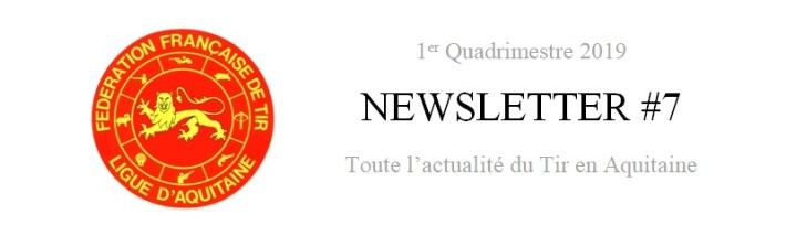 [Information] Newsletter 1er Quadrimestre 2019