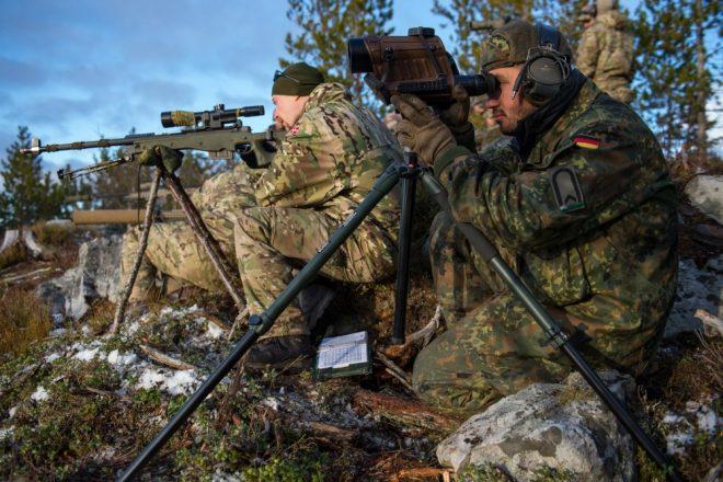 El ejército alemán moderniza sus rifles de francotirador AI – G22 se convierte en G22A2