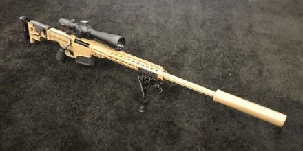 USSOCOM selecciona a Barrett Firearms Manufacturing MRAD como nuevo rifle de francotirador avanzado