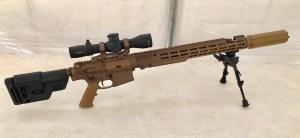 Sistema de francotirador semiautomático de  largo alcance en Creedmoor 6.5 de Geissele Automatics