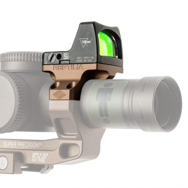 Opciones de montaje de Reptilia RMR para óptica de 30 mm