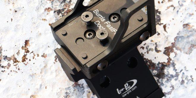 AMS Machine MRD Mount con riel para accesorios extendido: ¡El último montaje en offset de 45 grados para mini vistas de punto rojo!