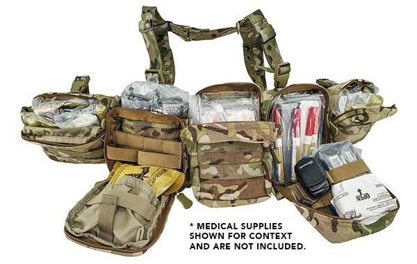 Sistema de cinturones de combate de asalto médico premiado con NSN