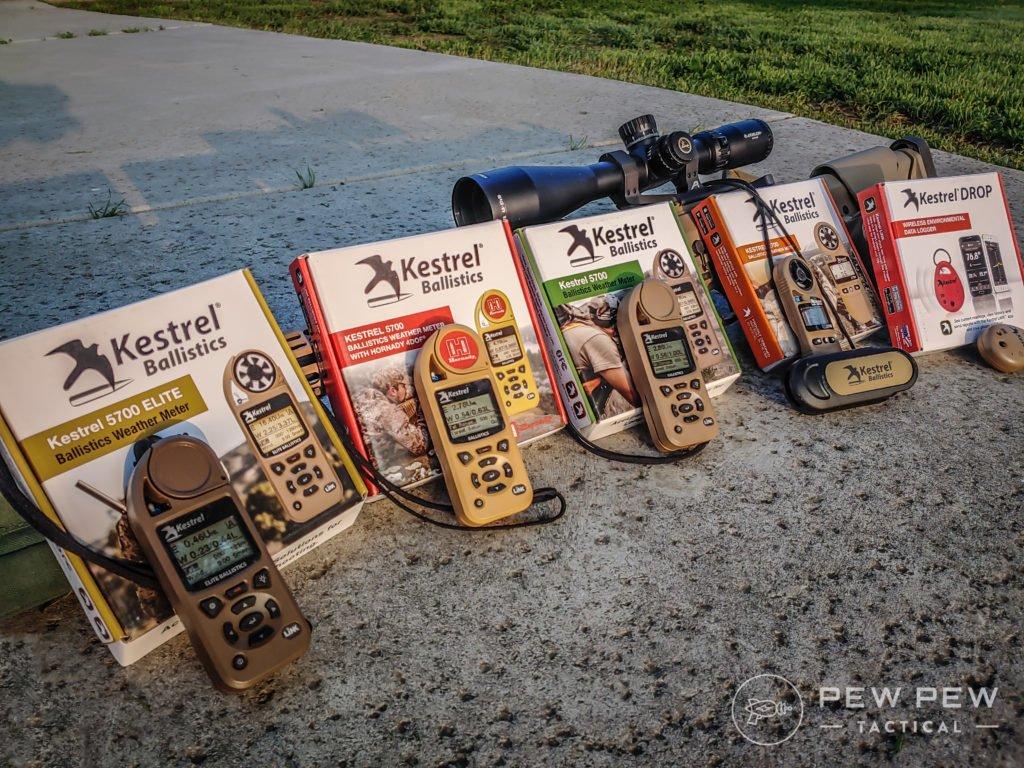 5 Mejores Kestrel para disparar