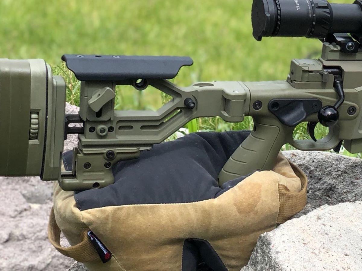 Mejoras ergonómicas de rendimiento para sistemas de fusiles AICS por Anarchy Outdoors