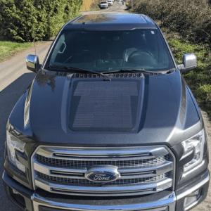 Cascadia 4 × 4 Sistema solar específico para vehículos